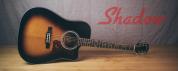 Shadow kokopuiset kitarat
