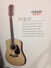 Farida D-16N-12 12-kielinen kitara