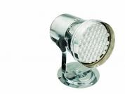 Eurolite LED T-36 RGB 10mm LED PAR-kannu hopeinen