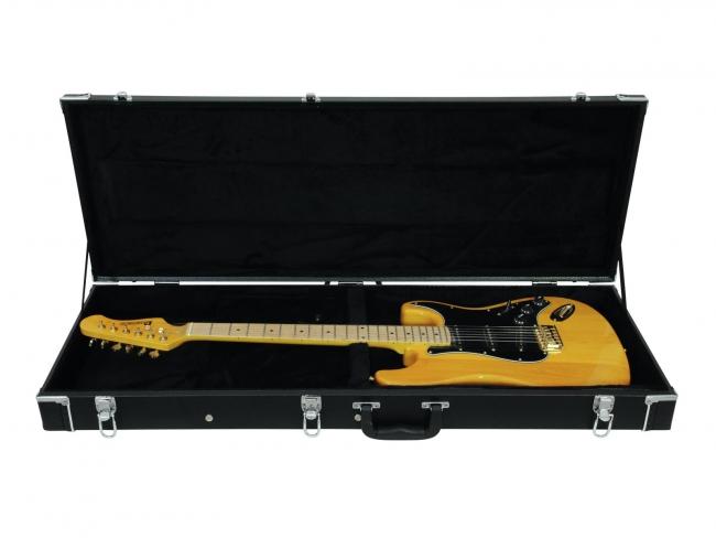 wooden case for electric guitar vantaan musiikki. Black Bedroom Furniture Sets. Home Design Ideas