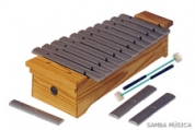 Samba 360 diatoninen sopraano metallofoni c2-f3