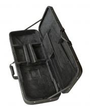 Puolikova laukku sähköbassolle