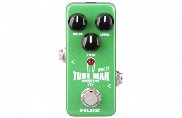 NUX Tube Man Overdrive mini pedaali