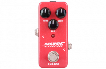 NUX Brownie Distortion mini pedaali