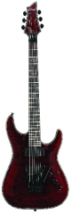 Schecter Hellraiser collection C-1 FR Floyd Rose Black Cherry sä
