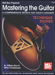 Mastering the guitar technique studies kitaransoiton tekniikkaop