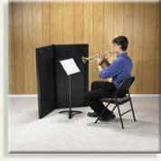 Clearsonic vaimennusseinämät laulu/soitinkäyttöön