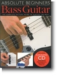 ABSOLUTE BEGINNERS BASS GUITAR +CD