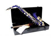 Dimavery alttosaksofoni sininen
