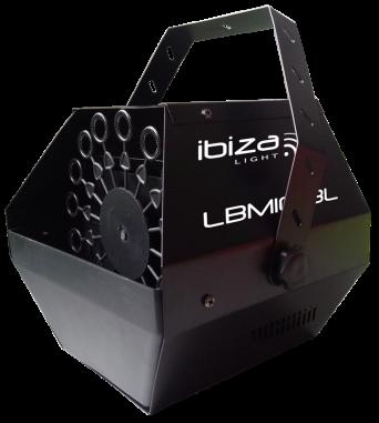 Ibiza Sound akkukäyttöinen saippuakuplakone