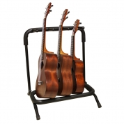Kolmen ukulelen teline