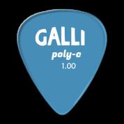 Galli P72B - Polycarbonaatti plektra 1.00mm