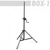 Athletic BOX1 kaiutinteline, veivattava korkeussäätö