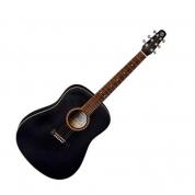 Baton Rouge L6B musta akustinen kitara