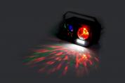 Ibiza Light yhdistetty 3in1 astro, strobo, Gobo beam valoefekteillä
