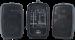 Ibiza Sound kannettava äänentoisto+ 2x langatonta mikkiä USB/SD/BT
