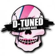 Galli D-tuned DB4 50-110 bassokitaran kielet droppivireille
