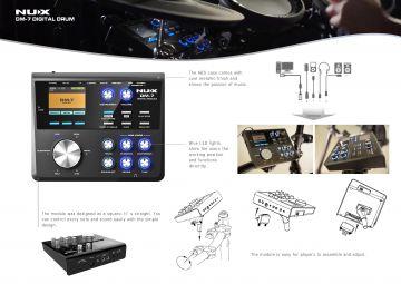 NUX DM-7 sähkörummut
