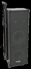 Ibiza Sound Port9 karaokepaketti näyttö ja langaton mikki