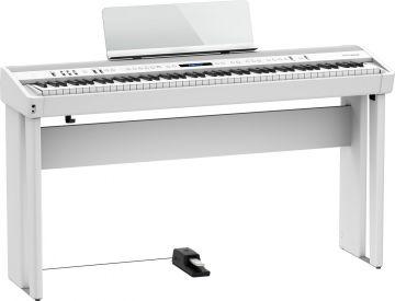 Roland FP-90X digitaalipiano, valkoinen
