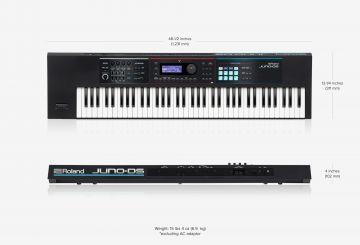 Roland Juno DS76 syntetisaattori