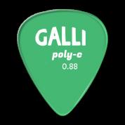 Galli P72G polycarbonaatti plektra 0.88mm