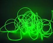 EUROLITE, EL wire 2mm, 2m, vihreä valokaapeli
