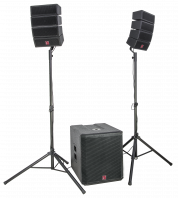 BST-Audio 2.1 Line Array 900W äänentoisto