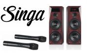 Hyper Sound 100W Hi-Fi karaokepaketti
