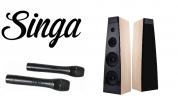 Hyper Sound IA-2060WIFI 200W aktiivinen Hi-Fi Karaokepaketti