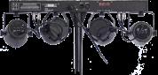 Ibiza Light DJ-60 valopaketti teline ja kaukosäädin
