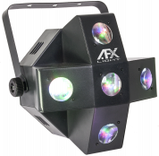 AFX Light DMX-ohjattu RGBW LED valoefekti viidellä Gobolla