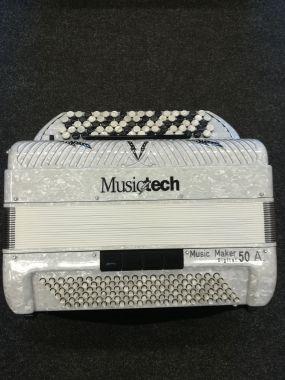 Musictech Music Maker 50 A digiharmonikka (näppäinmalli)