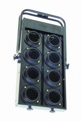 EUROLITE, Audience Blinder 8x PAR-36 black