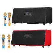 Museeq Karaoke Soundbar + 2x langatonta mikkiä