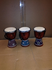 "World Rhythm Percussion 4"" djembe, 15 cm"