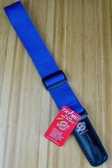 Lock-It Strap lukittava sininen kitaranhihna