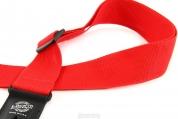 Lock-It Strap lukittava punainen kitaranhihna