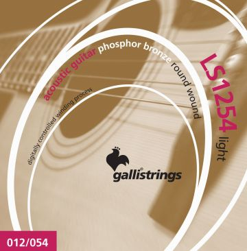 Galli LS-1254 teräskielisen kitaran kielet