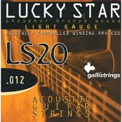Galli Strings Lucky Star LS-20 light teräskielet