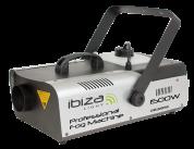 Ibiza Light 1500W savukone langattomalla kaukosäätimellä ja ajastimella