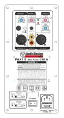 "Audio Design Pro M8 8"" 240W aktiivikaiutin"