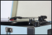 Sininen Levysoitin Kantolaukussa omilla kaiuttimilla BT/USB/SD