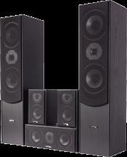 LTC-Audio 5.0 kotiteatteri kaiuttimet