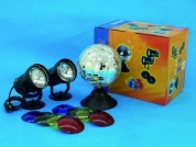 EUROLITE, Mirror ball with stand-set