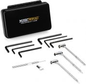 MusicNomad MN235 Premium Guitar Tech Truss Rod Wrench Set - 11 kpl