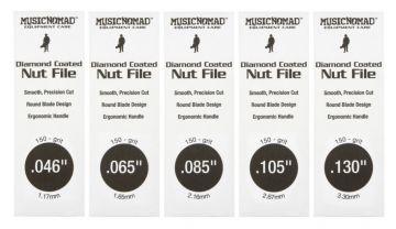 MusicNomad MN673 basson timanttiviilasetti 5 viilaa