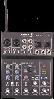 Mikseri 6-kanavaa äänikortilla/BT/efektit
