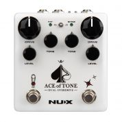 NUX NDO-5 Ace of Tone Dual Overdrive Effects pedaali
