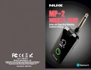 NUX Mighty Plug BT mallintava kuulokevahvistin kitaralle ja bassolle